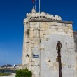 Saint Nicolas tower - La Rochelle — Stock Photo