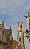 Historical town centre of Bruges — Stock Photo
