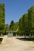 Rambouillet castle park — Stock Photo