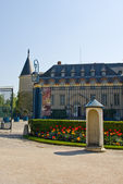 Chateau Rambouillet main entrance — Stock Photo