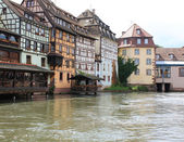 Historic houses in Strasbourg — Stock Photo