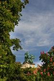 グラン ・ パレ屋根像 — ストック写真