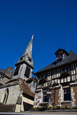 Honfleur old architecture — Stock Photo