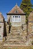 Henri Le Sidaner medieval garden — Stock Photo