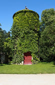 绿色塔-雪浓梭城堡 — 图库照片