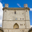 Vincennes Castle defensive wall and entrance tower — Stock Photo