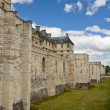 Vincennes Castle defensive wall — Stock Photo