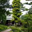 Albert Khan - japanese garden — Stock Photo