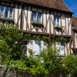 Stock Photo: Provins historic buildings