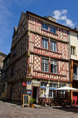 Rennes - old town center — Stock Photo