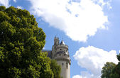 One of the towers of the Pierrefonds Castle — Stock Photo