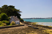 Morbihan Gulf - fisherman house — Stock Photo