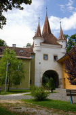 Ecaterina Gate in Brasov medieval town — Stock Photo