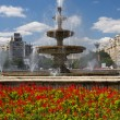 Unirii Square - Bucharest — Stock Photo