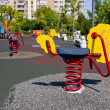Playground in Bucharest — Stock Photo
