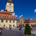 Council Square (Piata Sfatului) - Brasov — Stock Photo #11420110