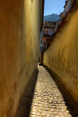 Rope street in Brasov — Stock Photo