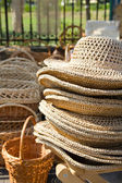 Straws hats — Stock Photo