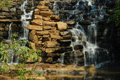Water Over the Wall — Stock Photo