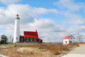 Tawas Point Lighthouse — Stock Photo