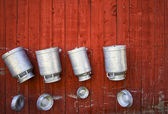 Milk Cans — Stock Photo