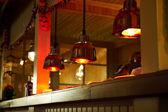 ライト料理、バーで — ストック写真
