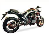 Motorcycle on white — Stock Photo