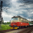 Train on railway — Stock Photo #10961082
