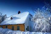 House on mountain — Stock Photo