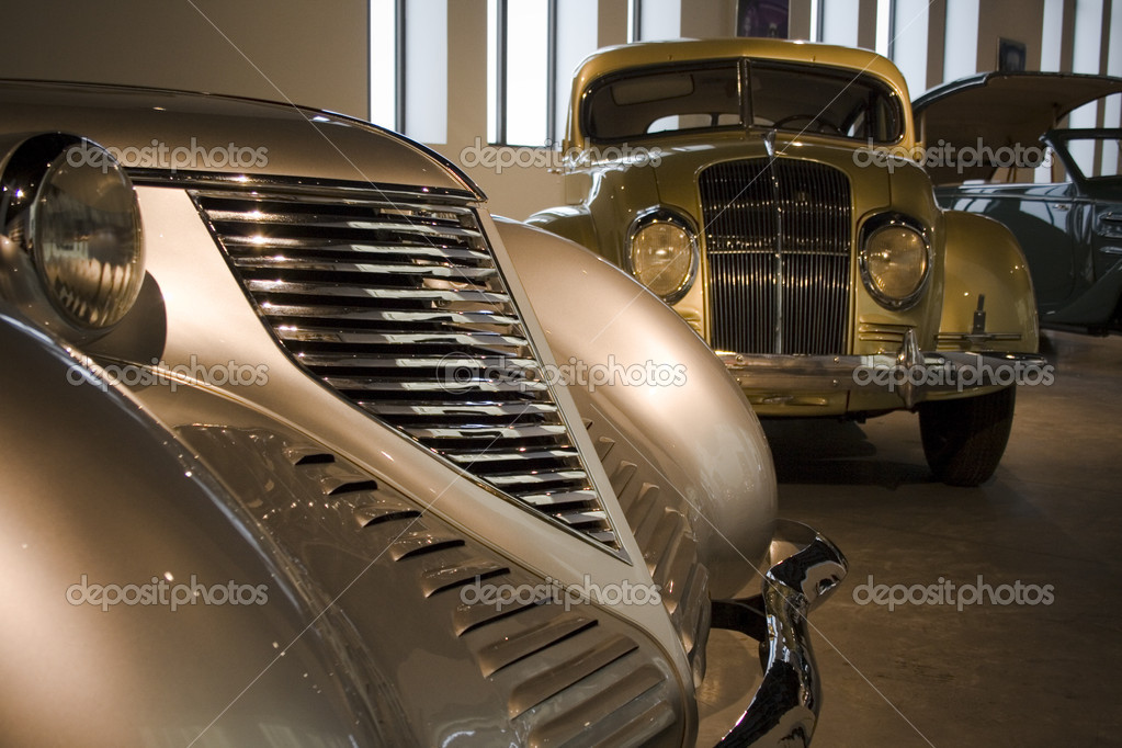 Car history museum - Malaga, Spain — Stock Photo #11138536