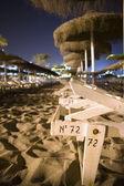 Night beach — Stock Photo