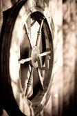 スピニング ホイール — ストック写真