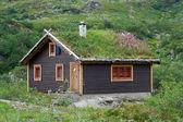 Hytte, cabin — Stock Photo