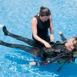 Women Divers — Foto Stock