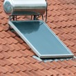 Solar Heating - Stockfoto
