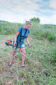 Strimmer — Stock Photo