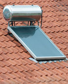 Solar Heating — Stockfoto