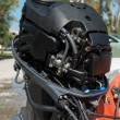 Stock Photo: Outboard Motor