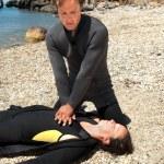 ������, ������: Diver rescue