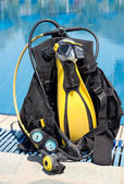 Scuba Gear — Stock Photo