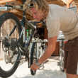 Stock Photo: mountain bike&quot