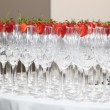 Champagne Cups — Stock Photo