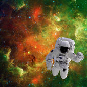 Astronaut in space — Stock Photo