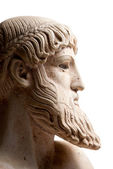 Greek god in profile vertical — Stock Photo