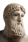 Portrait of a greek god — Stock Photo