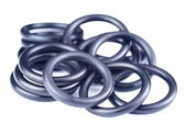 Rubber O Rings — Stock Photo
