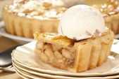 Apple Pie Ala Mode — Stock Photo