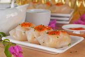 Vegetable Dumpling Dim Sum — Stock Photo