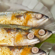 Dressed Indian Mackerels — Stock Photo