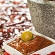 Stock Photo: Sambal Chili - Spicy Shrimp Paste Condiment